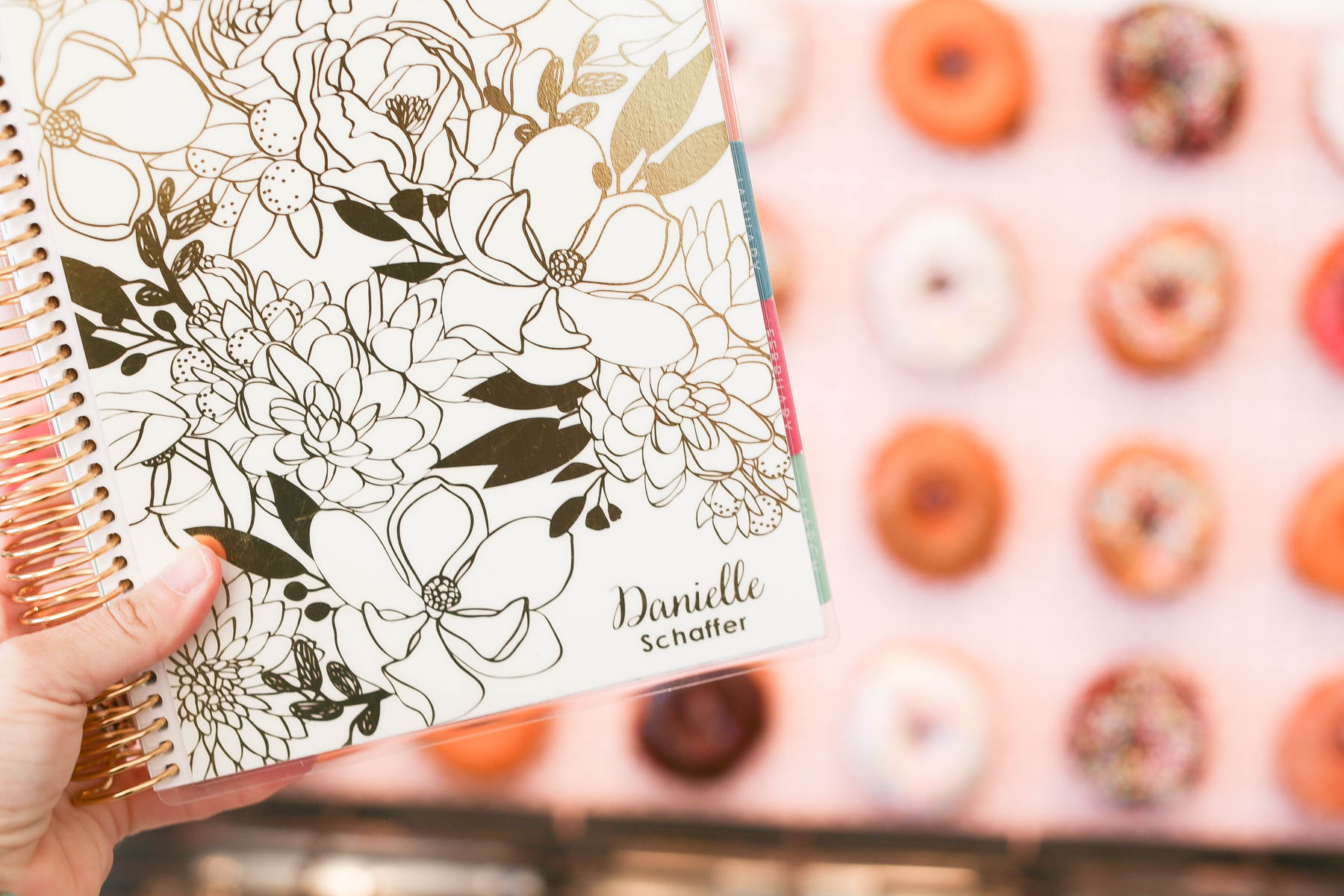 Erin Condren Rose Gold Custom Planner