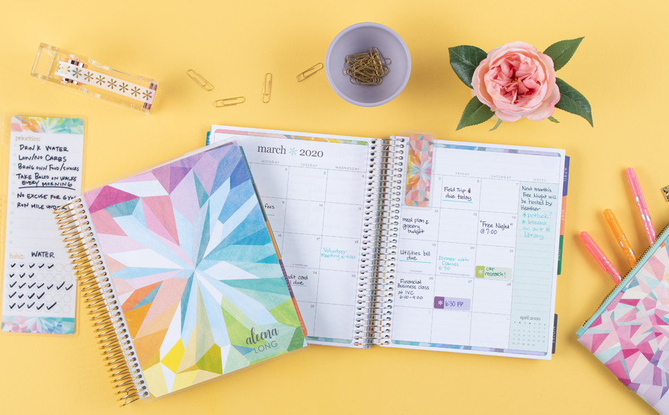 Job search tip: make a budget with the Deluxe Monthly Planner