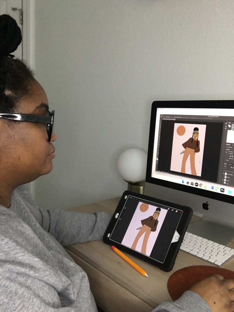 Erin Condren collection supporting social justice - Tara Mixon behind the scenes designing The Promise
